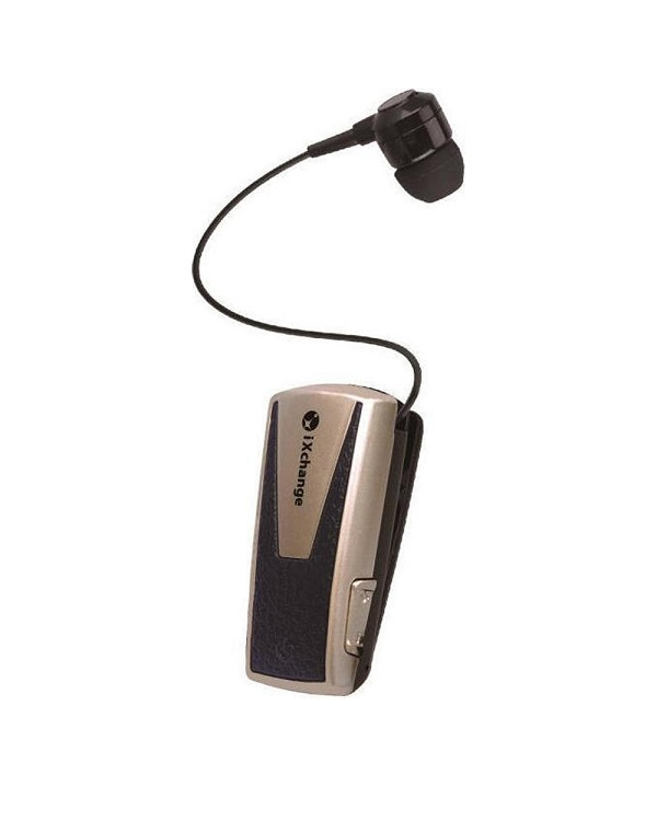 iXCHANGE UA42QT-V BLUETOOTH HANDSFREE GOLD - Έως 4 άτοκες δόσεις